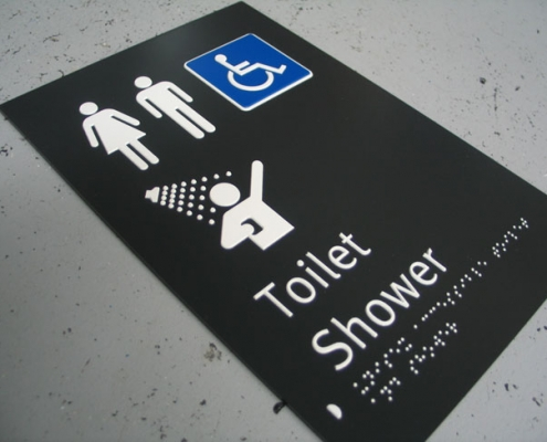 custom braille sign