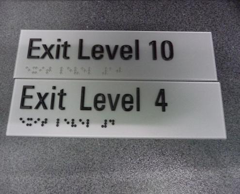 exit levels 410