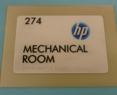 hp mechanical room